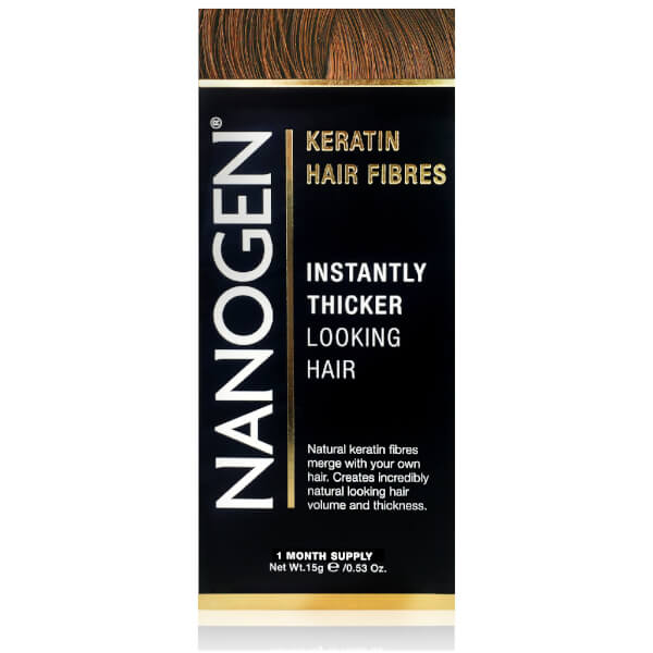 Nanogen Hair Thickening Fibers Auburn (0.5 oz.)