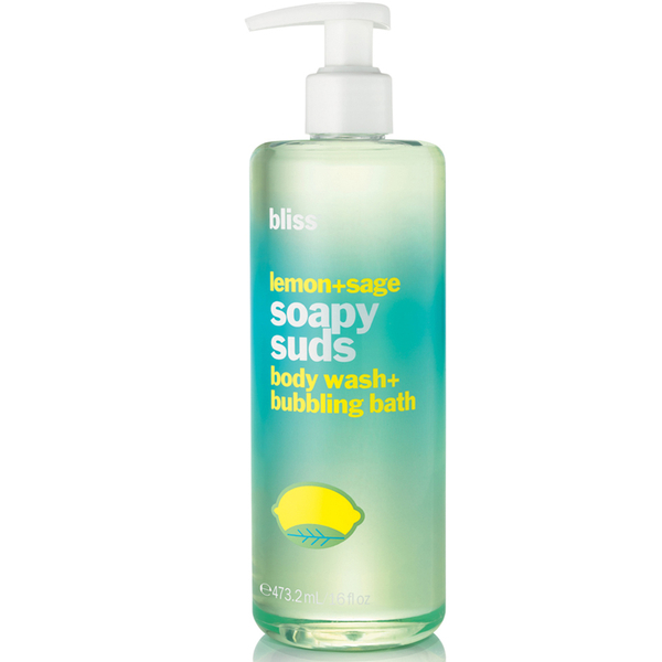 bliss Lemon + Sage Soapy Suds 60ml