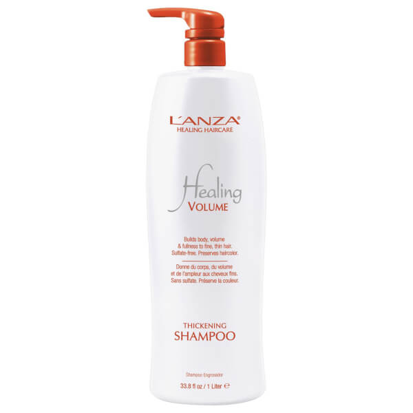 L'Anza Healing Volume Thickening Shampoo 1000ml (Worth £84.00)