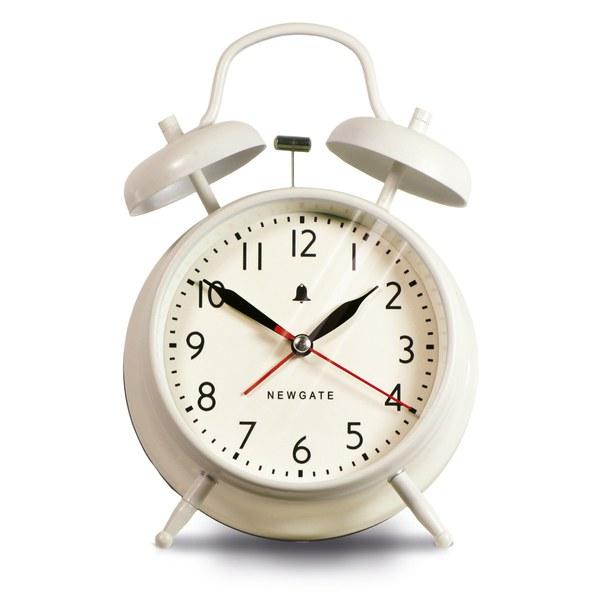 Newgate New Covent Garden Clock - Linen White