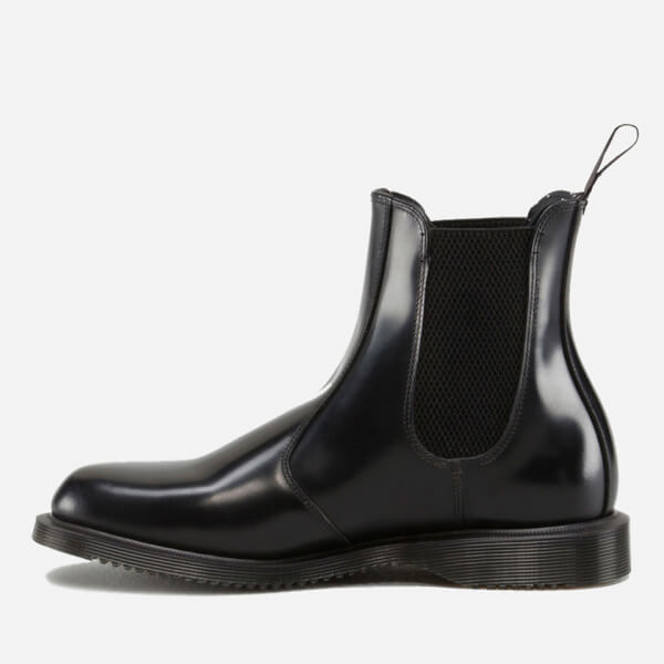 Dr Martens Women S Flora Polished Smooth Leather Chelsea