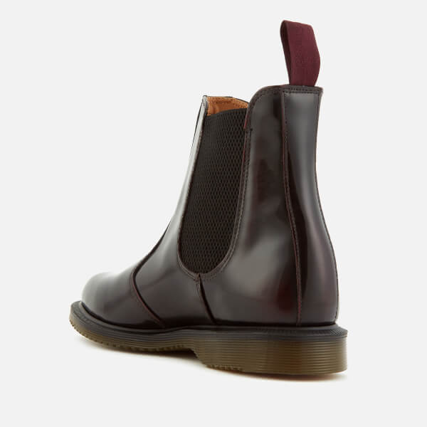 dr martens women 39 s kensington flora arcadia leather chelsea boots cherry red free uk. Black Bedroom Furniture Sets. Home Design Ideas