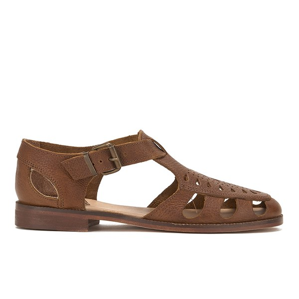 Hudson London Women's Sherbert Leather Sandals - Tan