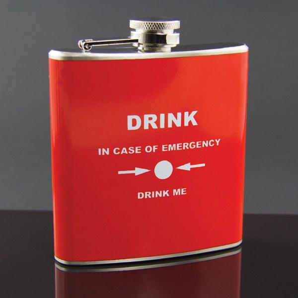 emergency hip flask iwoot. Black Bedroom Furniture Sets. Home Design Ideas