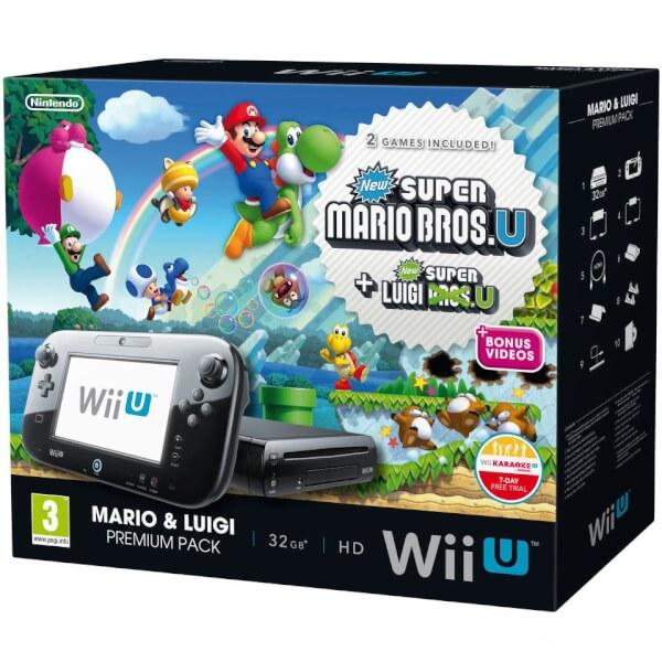 WII U Mario and Luigi Premium Pack