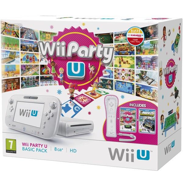 WII U Wii Party U + Nintendo Land Basic Pack (LIMITED)