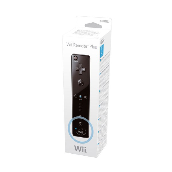 Wii Remote Plus (Black)