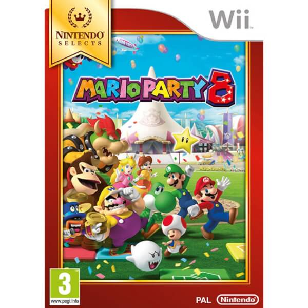 Wii Nintendo Selects Mario Party 8
