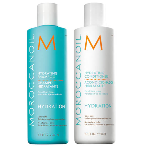 Moroccanoil Hydrating Shampoo Amp Conditioner Duo 2x250ml
