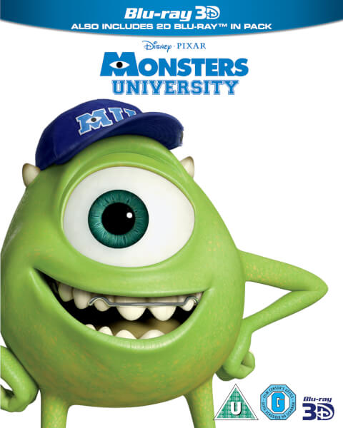 Monsters university 3d blu ray coupon
