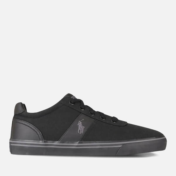 Polo Ralph Lauren Men s Hanford Trainers - Black Charcoal  38be45bc4e1f