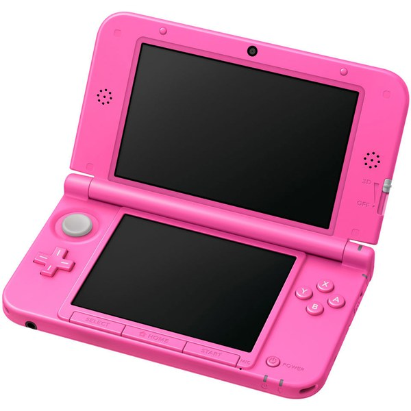 nintendo 3ds xl pink console animal crossing new leaf nintendo official uk store. Black Bedroom Furniture Sets. Home Design Ideas