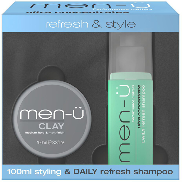 men-ü Refresh and Style Clay