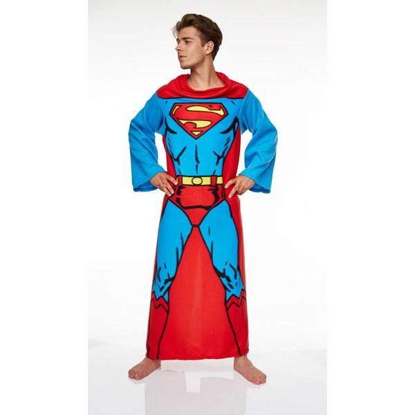 DC Comic Men's Superman Adult Lounger - Red