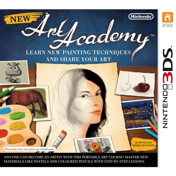 New Art Academy: Learn New Painting Techniques and Share Your Art - Digital Download