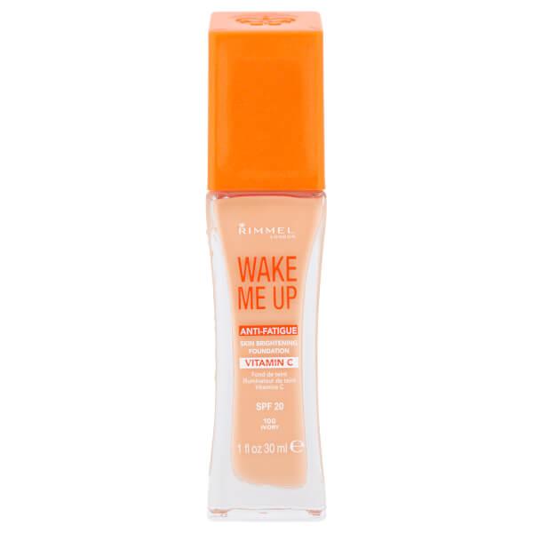 Rimmel Wake Me Up Foundation 30ml (Various Shades)