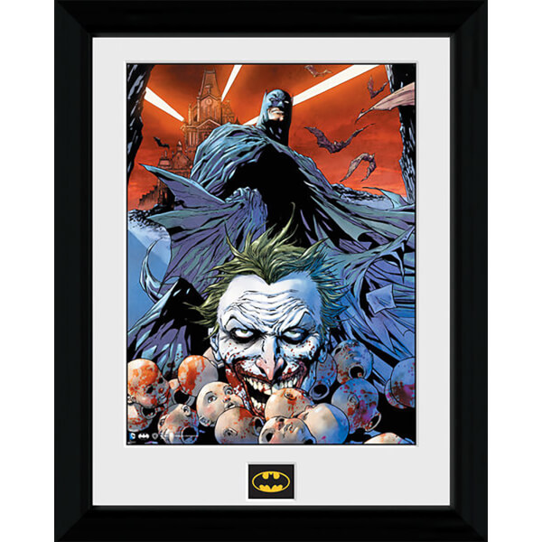 Batman Joker Defeated - 30 x 40cm Collector Prints