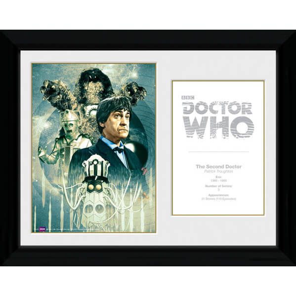 Doctor Who 2nd Doctor Patrick Troughton - 30 x 40cm Collector Prints