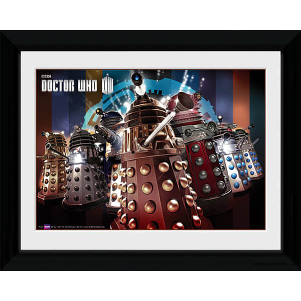 Doctor Who Daleks - 30 x 40cm Collector Prints