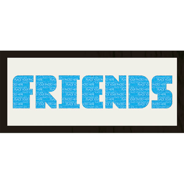 GB Cream Mount Friends Photo Font - Framed Mount - 12