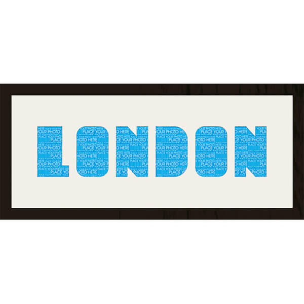 GB Cream Mount London Photo Font - Framed Mount - 12