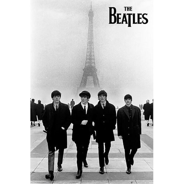 The Beatles In Paris - Maxi Poster - 61 x 91.5cm