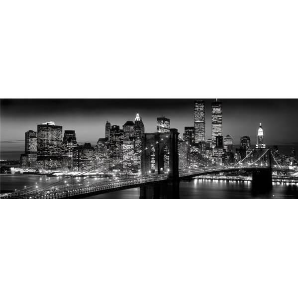 New York Manhattan Black - Berenholtz - Midi Poster - 30.5cm x 91.5cm