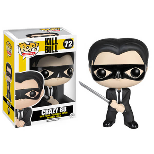 Kill Bill Crazy 88 Figurine Funko Pop!