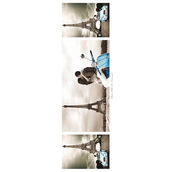 Paris Triptych - Midi Poster - 30.5cm x 91.5cm