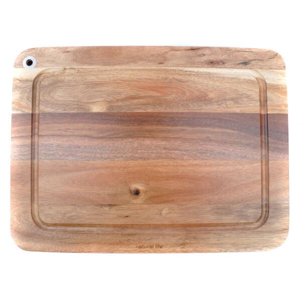 Natural Life NL82011 Acacia Wood Cutting Board