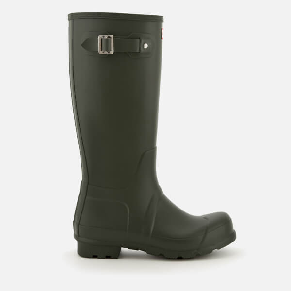 Hunter Men's Original Tall Wellies - Dark Olive