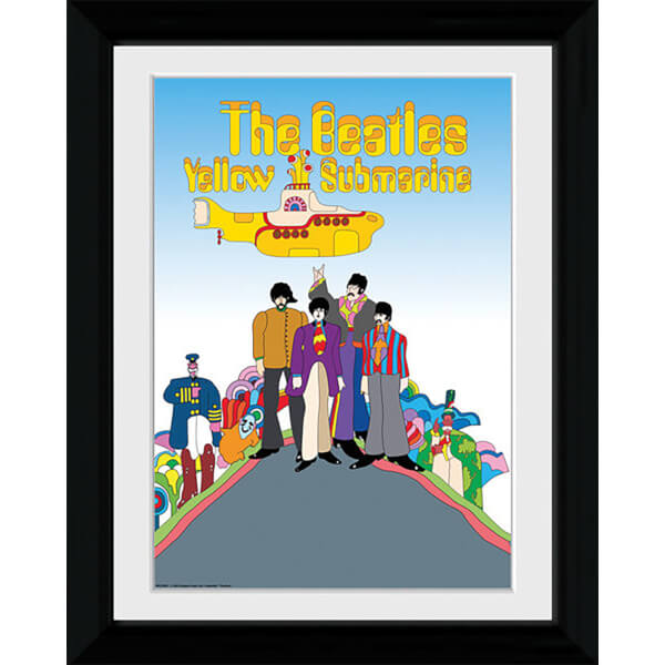 The Beatles Yellow Submarine - Collector Print - 30 x 40cm