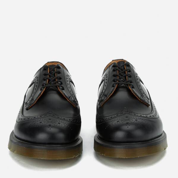 Dr. Martens Men's 3989 Pw Smooth Leather Wingtip Brogues - - UK 6 xcCpHGaM