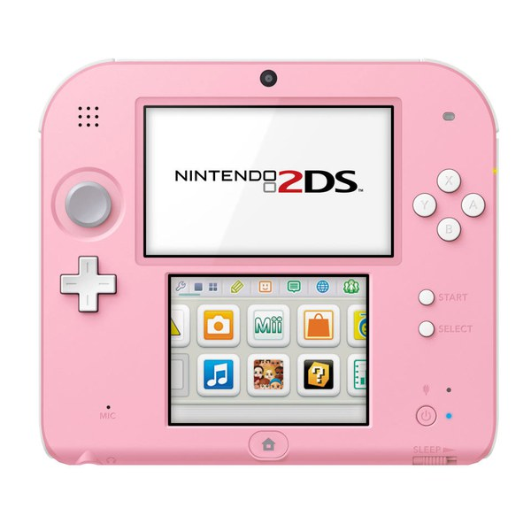 Nintendo 2ds Console Pink White Nintendo Official Uk Store