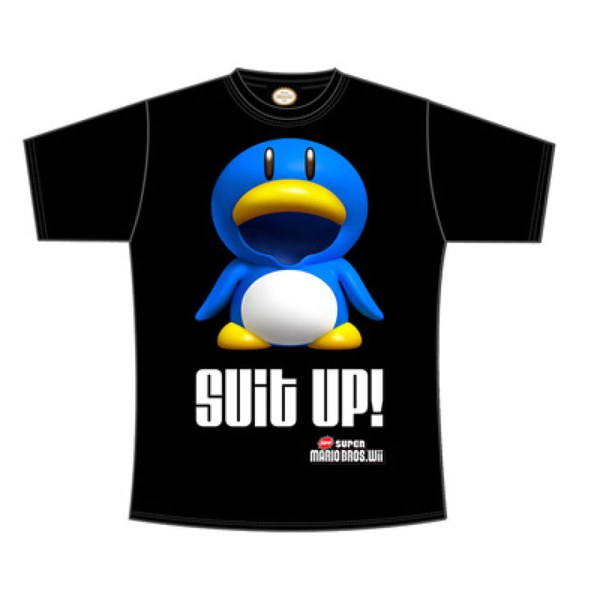 Penguin SUIT UP - T-Shirt Men's (Black)