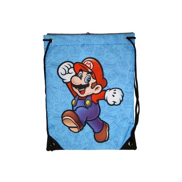 Mario - Gym Bag (Blue)