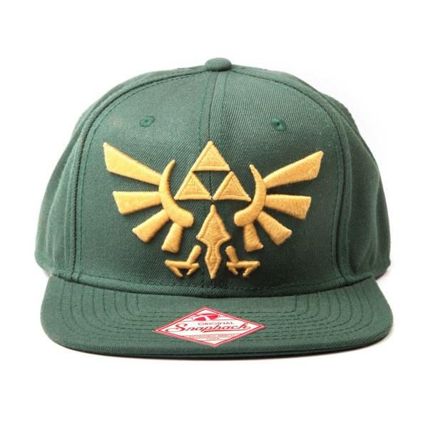 f45ac1d6 Zelda - Snapback Cap (Green/Gold) | Nintendo Official UK Store