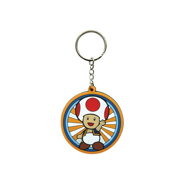 Toad - Rubber Keychain