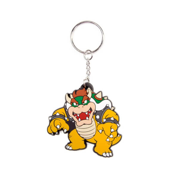 Bowser - Rubber Keychain