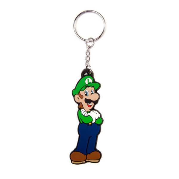 Luigi - Rubber Keychain