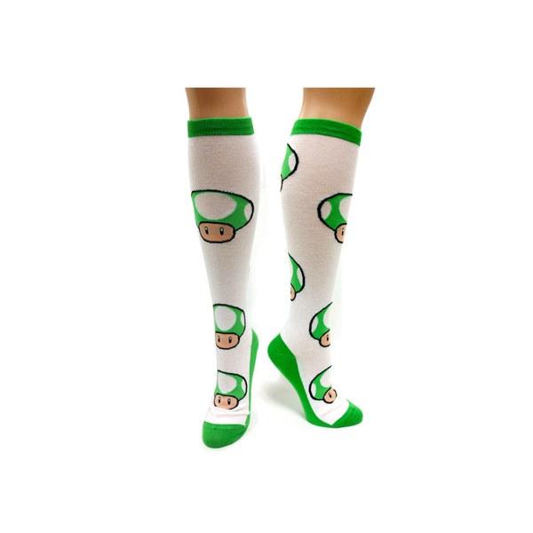 1-UP Mushroom - Knee High Socks