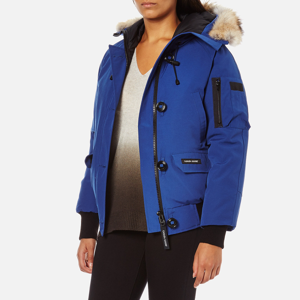 canada goose blue women's coat