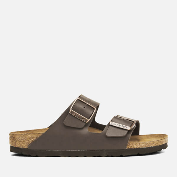 5075b809e43 Birkenstock Women s Arizona Slim Fit Double Strap Sandals - Dark Brown   Image 1