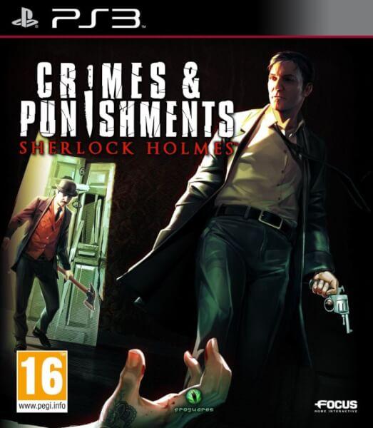 Kết quả hình ảnh cho Sherlock Holmes: Crimes & Punishments cover ps3