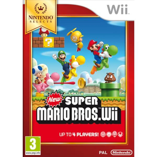 Wii Nintendo Selects New Super Mario Bros