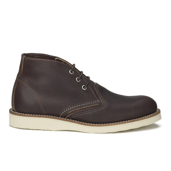 Red Wing Men's Chukka Leather Boots - Briar Oil Slick