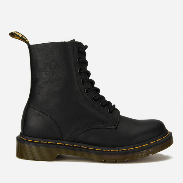 Dr. Martens Women's Core Pascal 8-Eye Virginia Leather Boots - Black