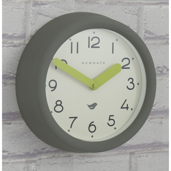 Newgate Pantry Wall Clock - Clockwork Grey