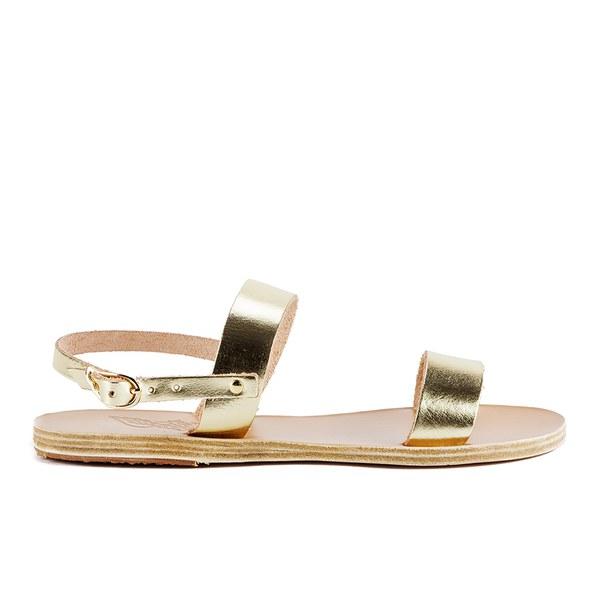 Ancient Greek Sandals Women's Clio Leather Sandals - Platinum