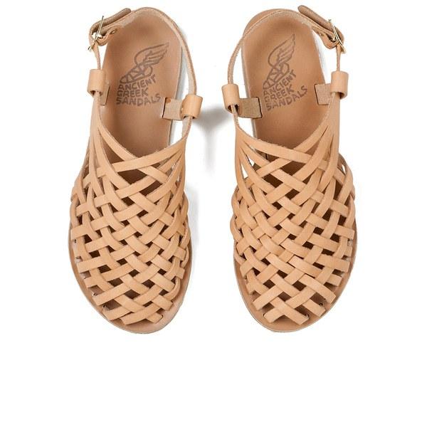 Ancient Greek Sandals Women S Plekti Ballerina Woven